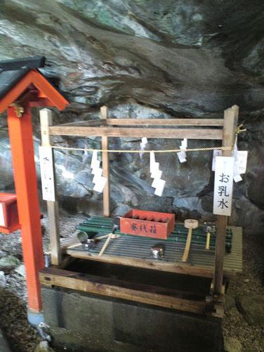 鵜戸神宮お乳水の写真