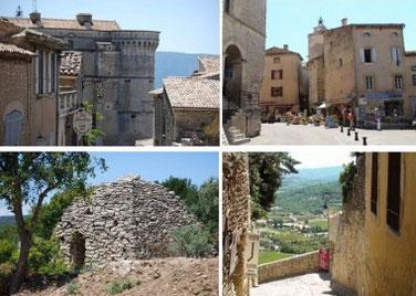 Gordes petit village Provençal dans le Lubéron