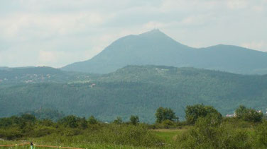 Le puy de Dôme vue de Gergovie