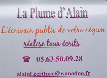 Alain Fritch 05 63 50 09 28