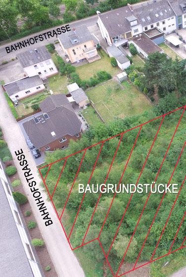 Luftbild Grundstücke 56642 Kruft Bahnhofstrasse immoconsilium