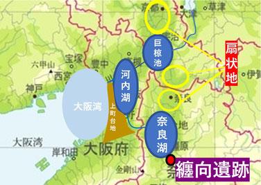 古代近畿地図