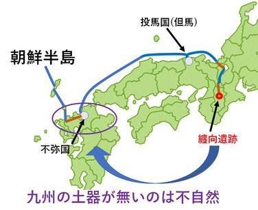 纏向遺跡と九州
