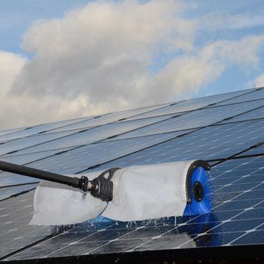 PV - Anlagen - Reinigungsbürste günstig ausleihen, Solar - Anlagen - Reinigungsbürste günstig ausleihen