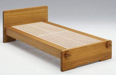 組子ベッド あんばい蜜蠟仕上げ