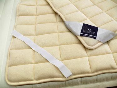 ドイツ製ビラベック ベッドパッド