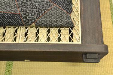 組子ベッドの構造