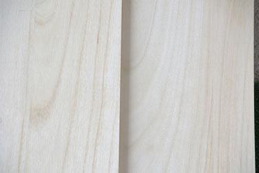 桐材の品質 板目(いため)