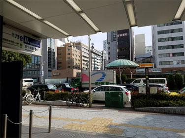 大阪メトロ四ツ橋線 四ツ橋駅 2番出口  出て左折
