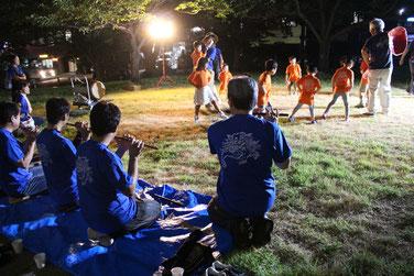 小川町ゆかりの1~8歳の子どもたちが演じる「唐子踊」。酒盛りをして酔っ払うシーンがかわいくて癒されます。