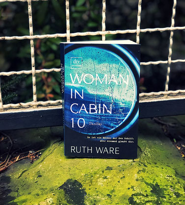 Woman in cabin 10, ruth ware, the booklettes, Buchcover