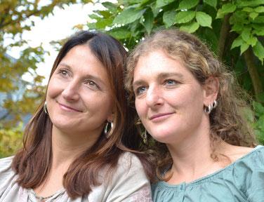 Claudia Kawka  und  Tina Bühler
