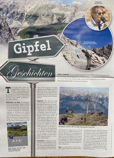 aus: weekend Tirol magazin, März 2021