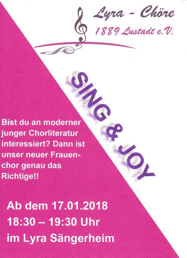 Sing & Joy Lustadt, Neuer Chor, Lyra Lustadt