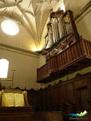 Órgano Colegiata de Bolea