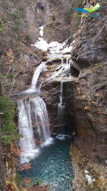 Cascada de la Cueva, Ordesa.