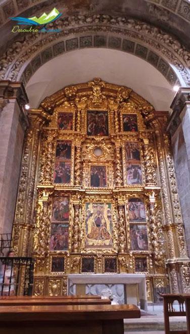 detalle catedral de barbastro