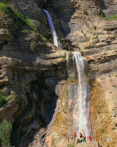 Cascada de Sorrosal.