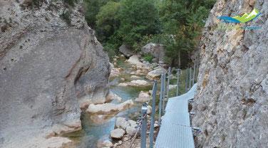 Ruta Pasarelas rio vero