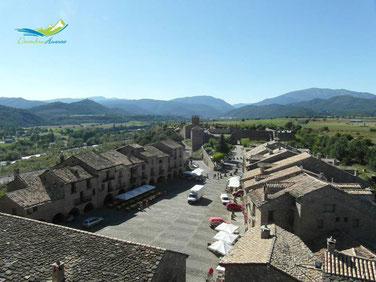 Aínsa; una villa medieval en Huesca