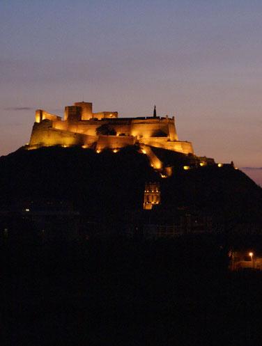 El Castillo de Monzón.