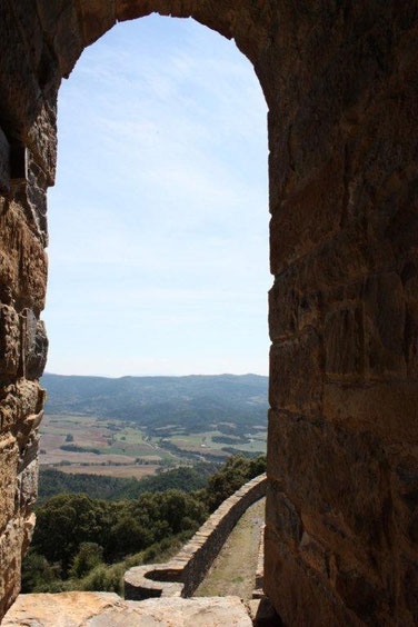 Vistas desde  Muro de Roda con panoramica al Valle de La Fueva