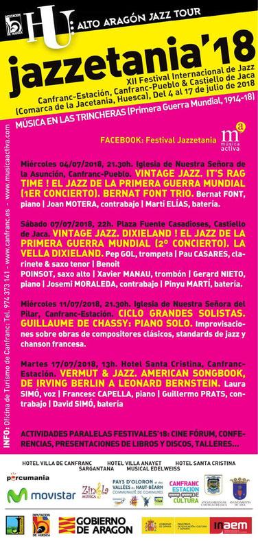 jazzetania 2017 canfranc huesca