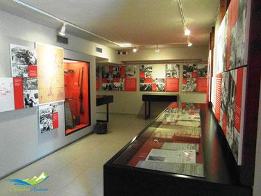 Centro de iterpretación de la guerra civil en Aragón, Huesca, Robres.