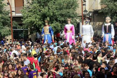 Fiestas de San Mateo en Monzón. Foto gracias a ganasdevivir.es