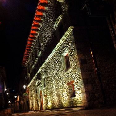 palacio de los Condes de la Ribagorza, Benasque.