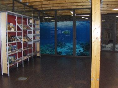 Centro de visitantes del Geoparque Sobrarbe.