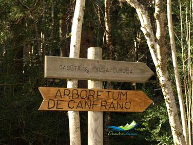 visitar la Caseta falsa cúpula Canfranc