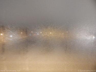 Fotografie, Fotos - Rätselbild, beschlagene Scheibe, Fenster ©Zarahzeta2015