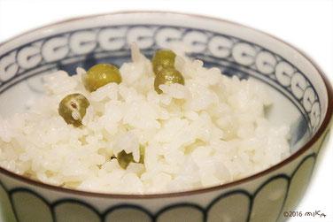 豆ごはん(えんどう豆)