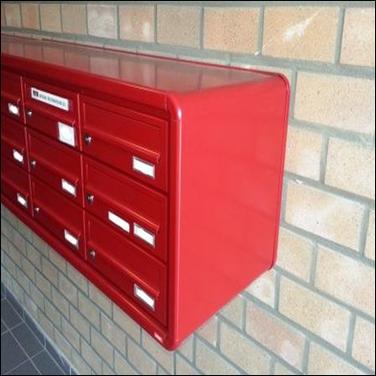 Residentieel uitvoering brievenbus