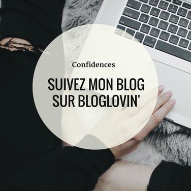 Suivez mon blog sur Bloglovin'