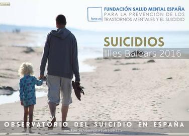 Illes Balears. Suicidios 2016.