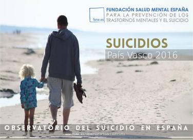 País Vasco. Suicidios 2016.