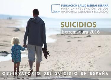 Extremadura. Suicidios 2016.