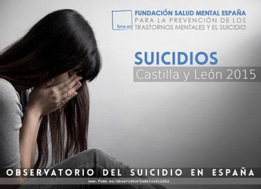 Castilla y León. Suicidios 2015.