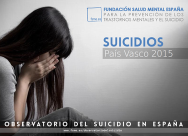 País Vasco. Suicidios 2015.