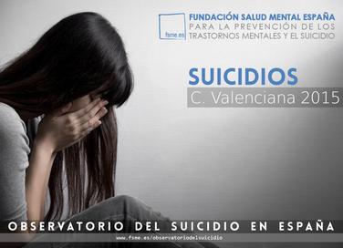 Comunidad Valenciana. Suicidios 2015.