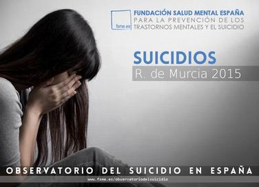 Región de Murcia. Suicidios 2015.