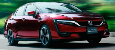 ホンダの燃料電池車