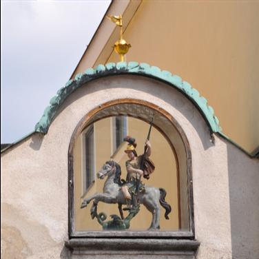 St. Georg; Murnau, Obermarkt © Stephan Rist
