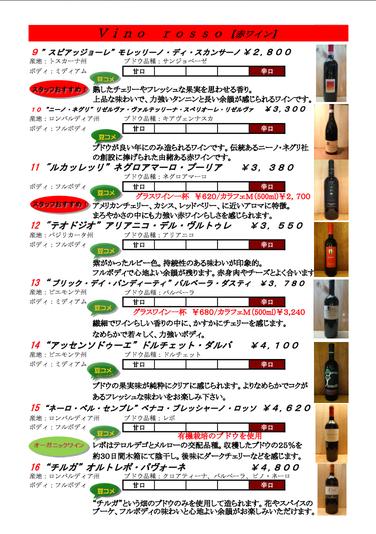 赤ワイン②