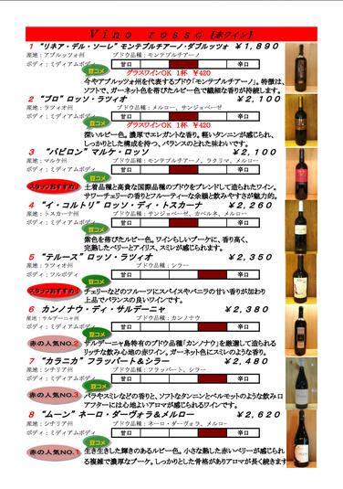 赤ワイン①