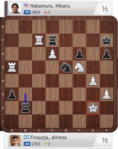 Firouzja-Nakamura, Partie 1, Magnus Carlsen Invitational