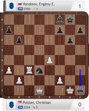 Lüneburger Schachfestival 2019, Polster-Vorobiov