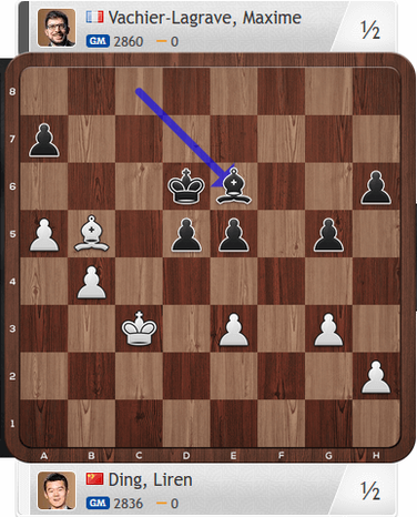 Ding-MVL, Partie 4, Magnus Carlsen Invitational